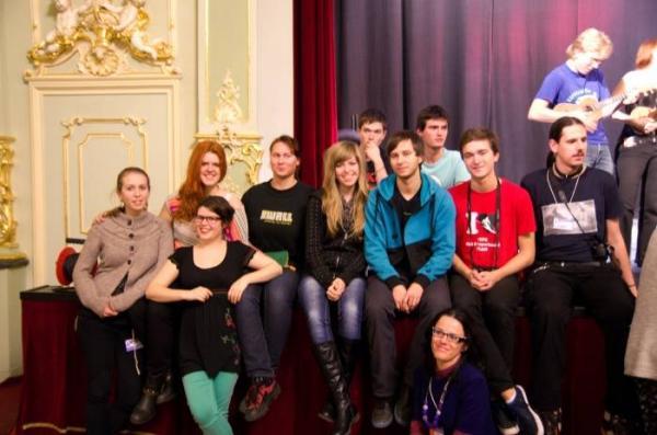 Slovenská fotka po koncerte